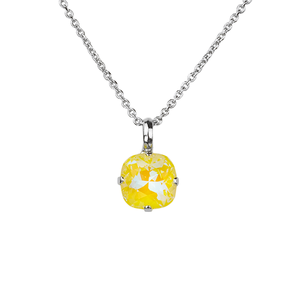"Cushion Cut Pendant in Sun-Kissed ""Sunshine"" *Preorder*"