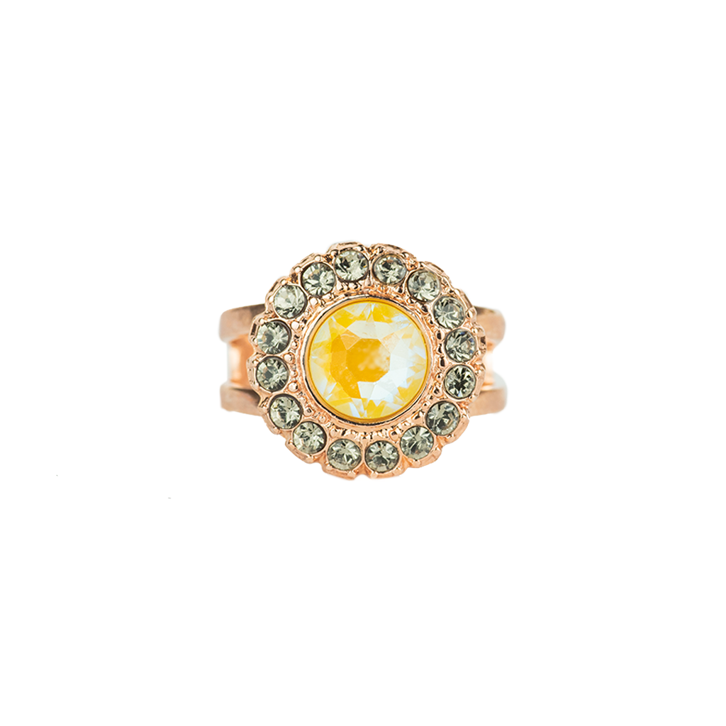 "Cluster Disc Adjustable Ring in ""Painted Lady"" *Preorder*"