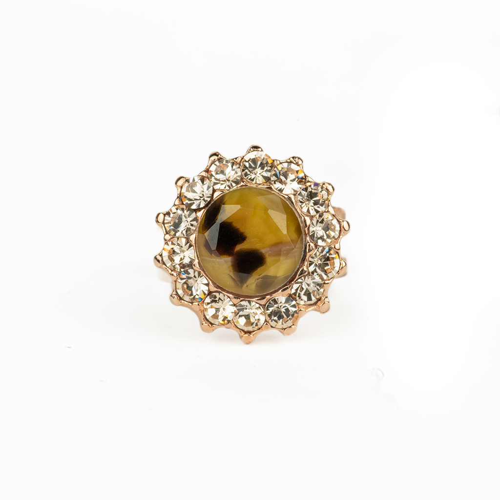 "Extra Luxurious Adjustable Ring in ""Meadow Brown"" *Preorder*"