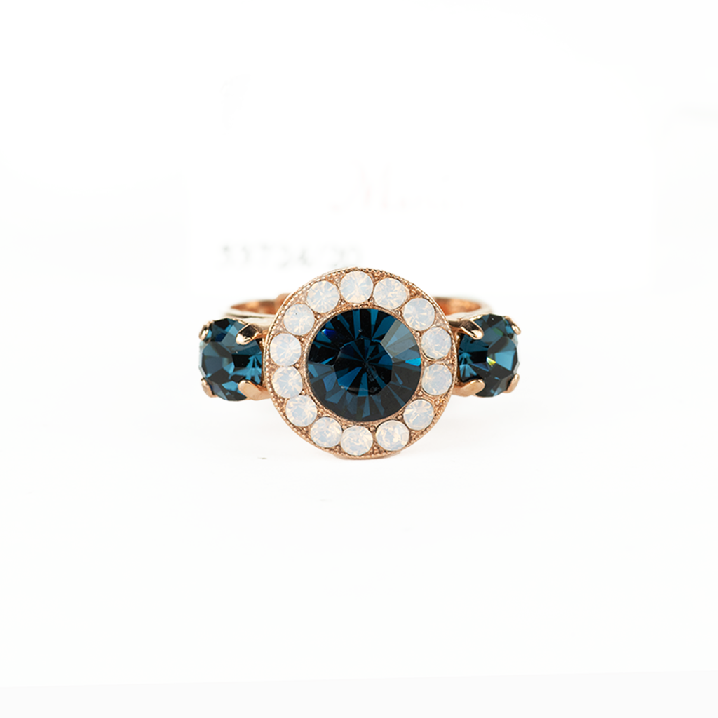 "*Preorder* Lovable Pave Ring in ""Blue Morpho"""