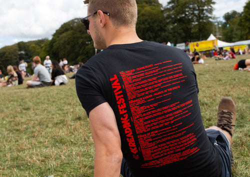 Reading Black Line Up Tee