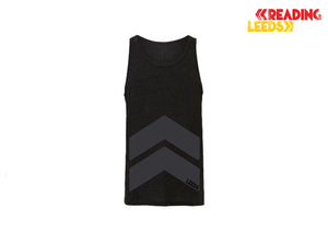 Leeds Black Chevron Ladies Vest