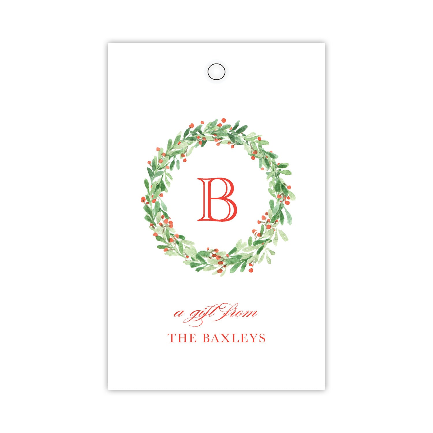 Wreath Gift Tags