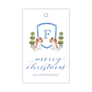 King Charles Crest Gift Tags