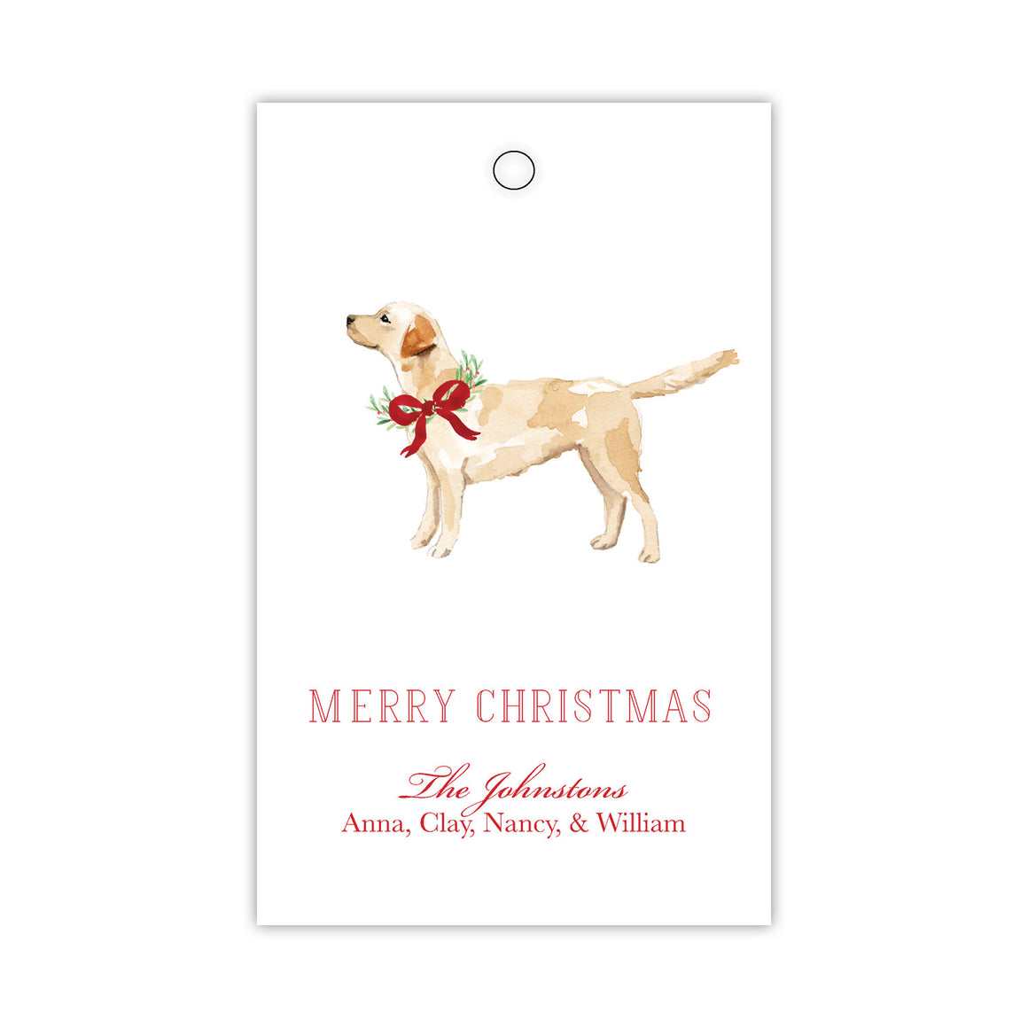 Lovely Lab Gift Tags