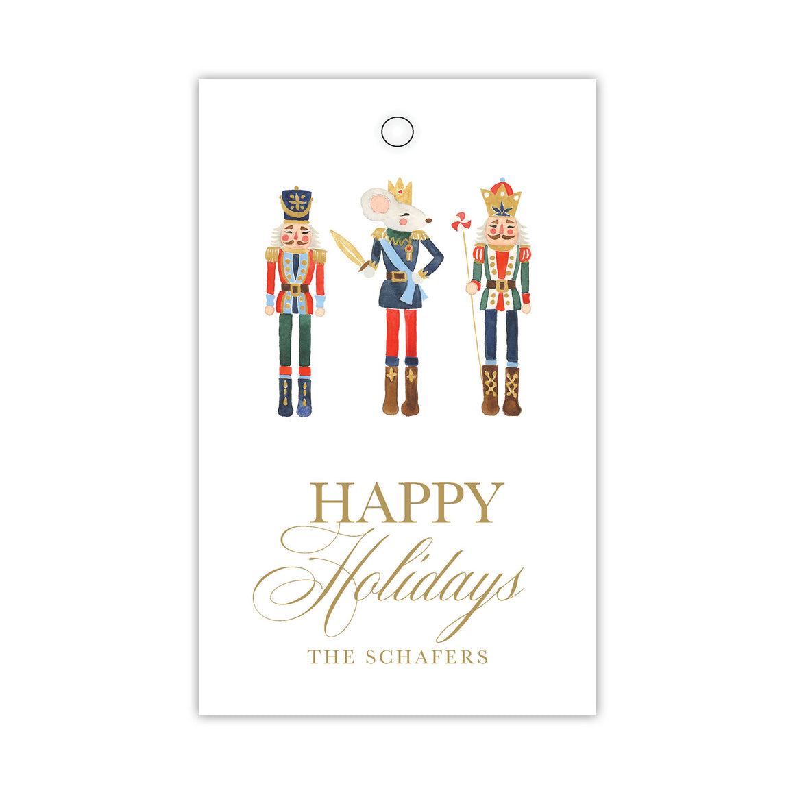 Happy Nutcrackers Gift Tags