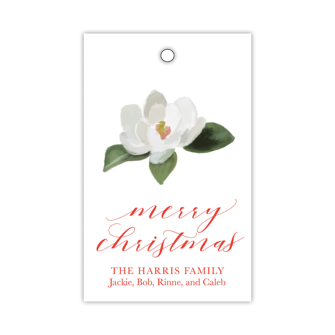 Merry Magnolia Gift Tags
