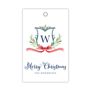 Berry and Sprig Monogram Gift Tags