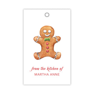 Ginger Bread Gift Tags