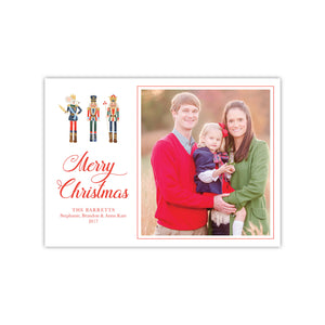 Very Merry Nutcrackers Holiday Card