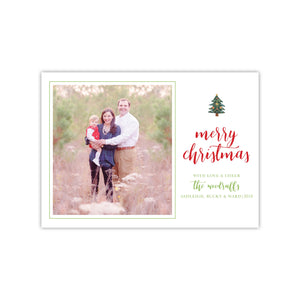 One Christmas Tree Holiday Card