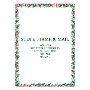 Address, Stuff, Stamp, & Mail