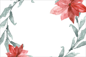Poinsettia Placemats