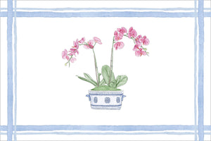 Orchid Chinoiserie Placemats