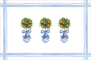 Citrus Topiary Placemats