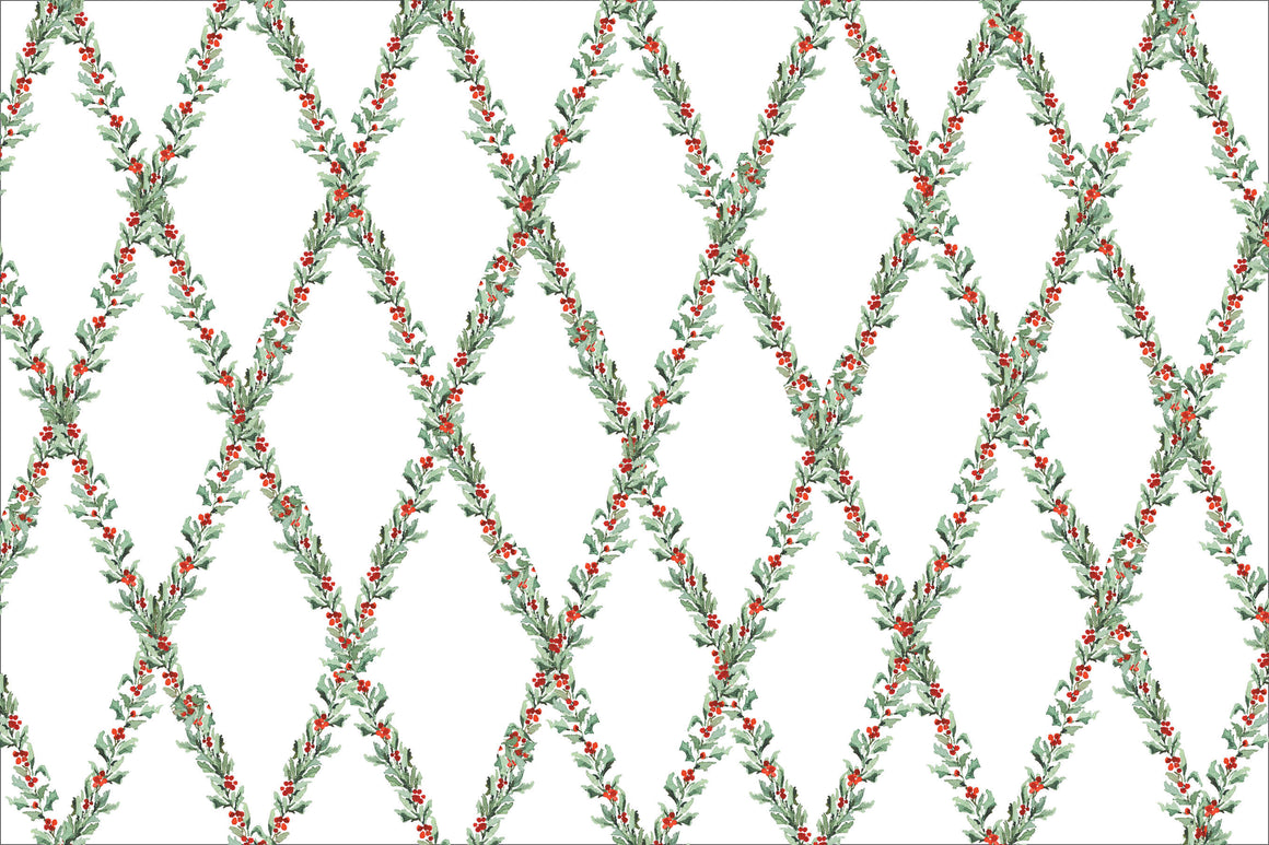 Holly Trellis Placemats
