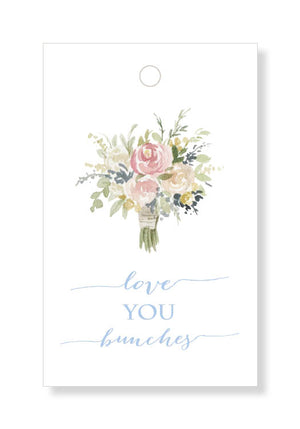 Love You Bunches Gift Tags