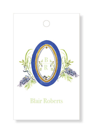 Wysteria and Blue Floral Gift Tags