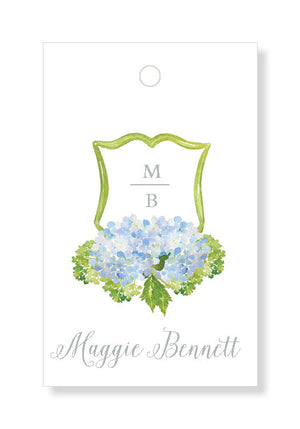 Hydrangea Crest Gift Tags