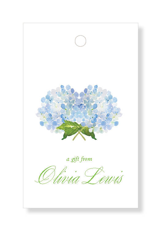 Hydrangea Bouquet Gift Tags