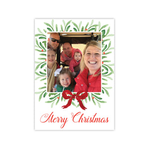 Wreath Frame Holiday Card