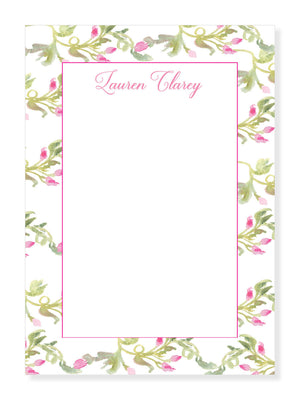 Pink Buds Notepad