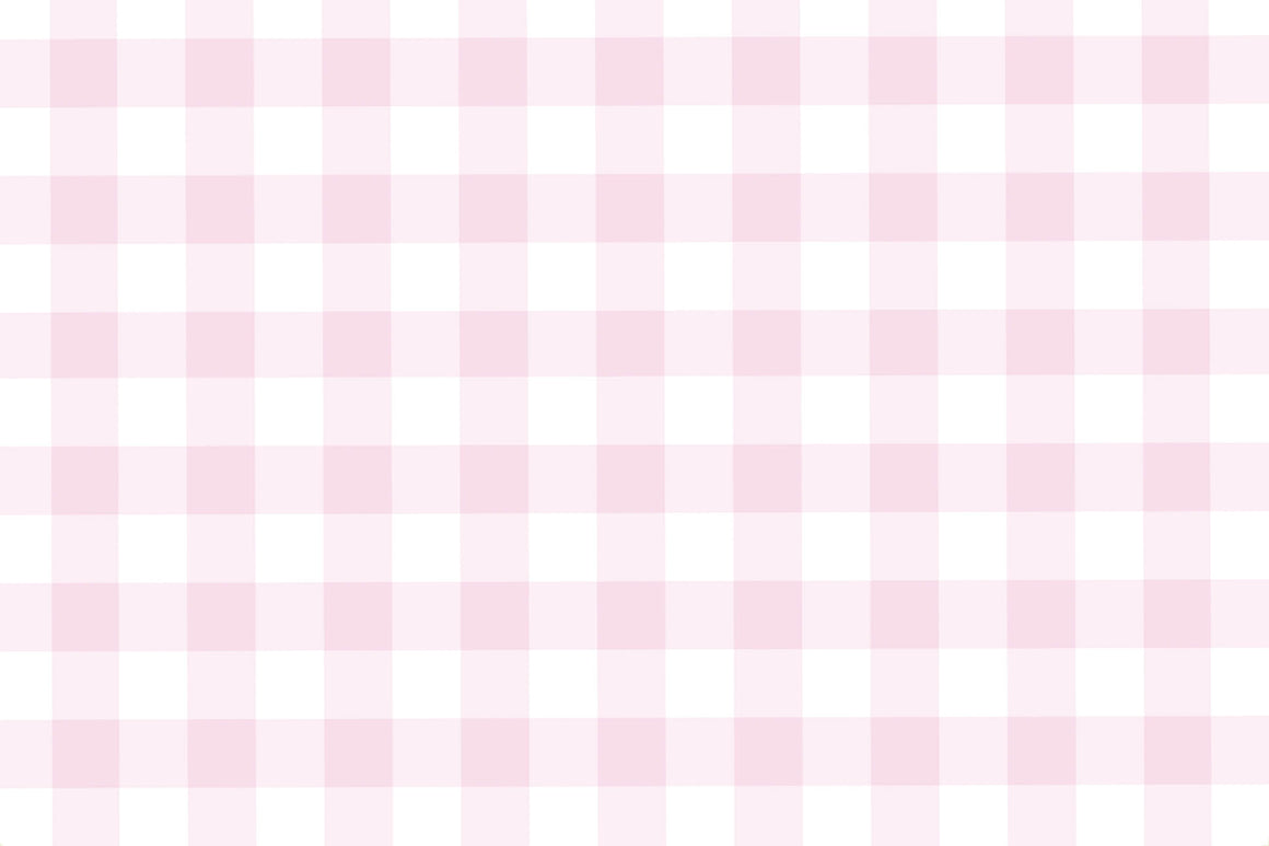Pink Gingham Placemats