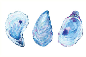 Oyster Watercolor Placemats