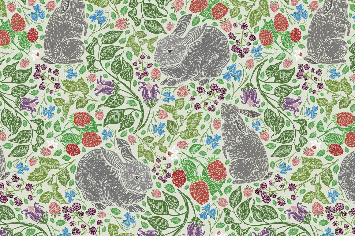 Bunny in the Garden Placemats