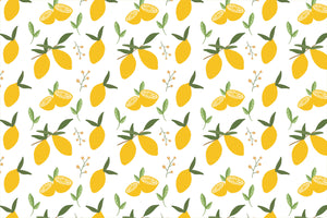 Lemon Citrus Placemats