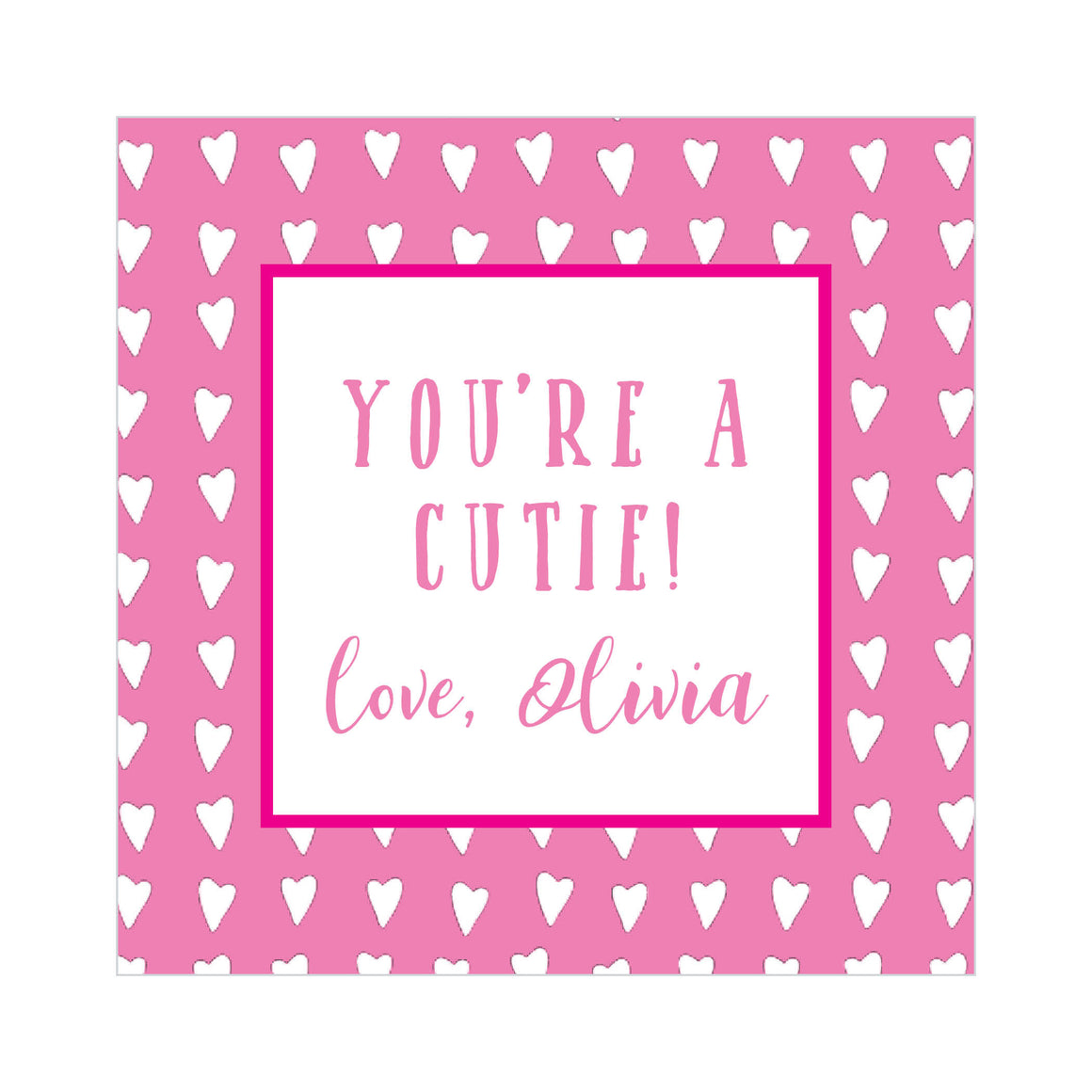 You're a Cutie Valentine's Tags