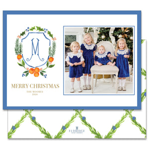 Citrus Crest Holiday Card