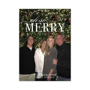 Bright Lights Merry Christmas Card