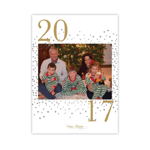 Happiest New Year Holiday Card