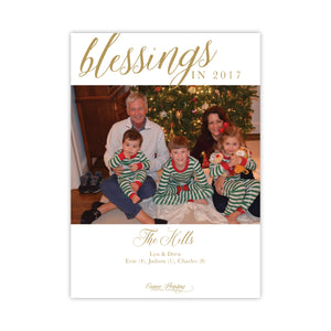 Blessings Holiday Card