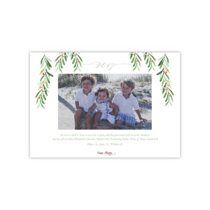 Peaceful Christmas Holiday Card