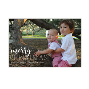 Sweet and Merry Christmas Card