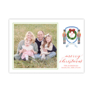 Nutcracker Crest Holiday Card