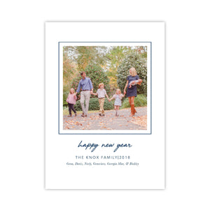 Happy New Year Simple Holiday Card