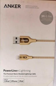 ANKER PowerLine+Lightning