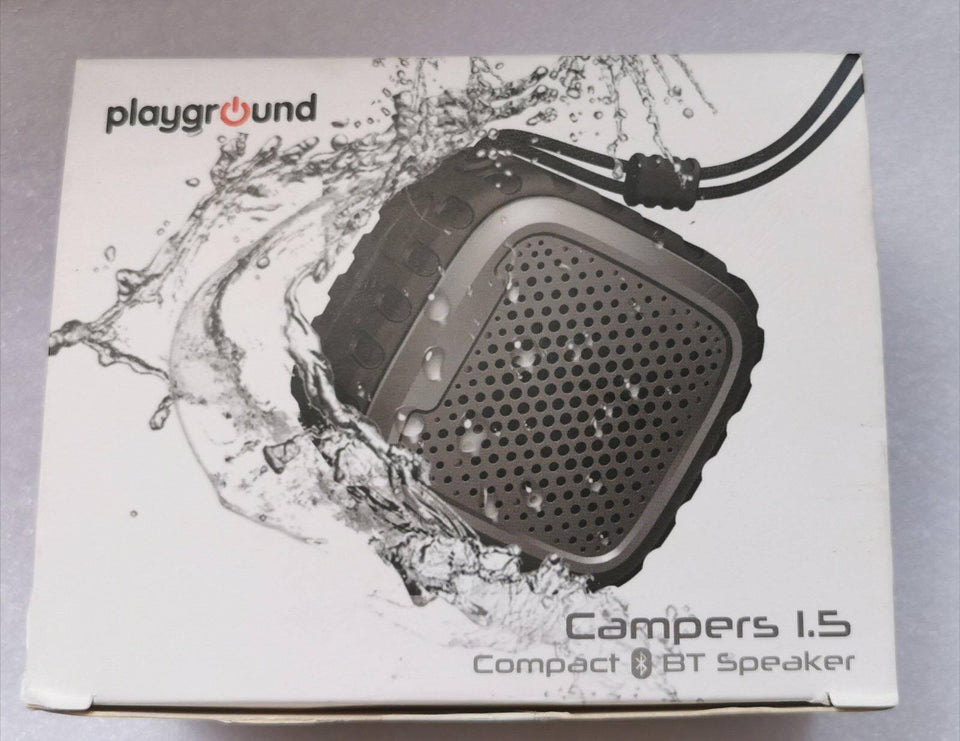 PLAYGROUND Campers 1.5 Compact BT Speaker