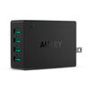 Aukey PA-U36 4 USB Port 40W 8A USB Charger with Ai Power Smart Charging