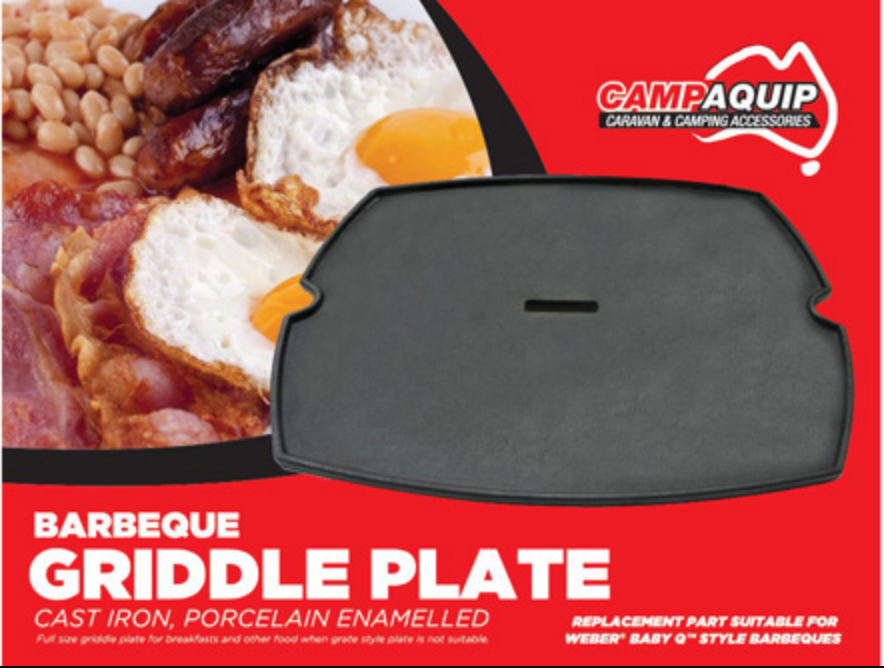 Griddle Plate for Weber Baby Q100/Q1000 series BBQ