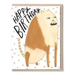 Birthday Beast Card
