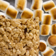 toasted marshmallow rice krispy treat