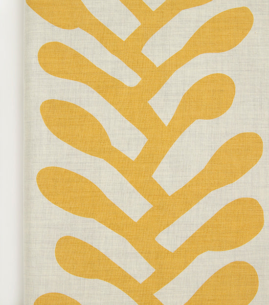 Gold Vines Heather Duvet Cover
