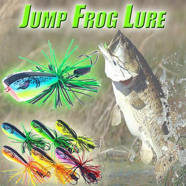Jumping Frog Lures More Color - bginvention
