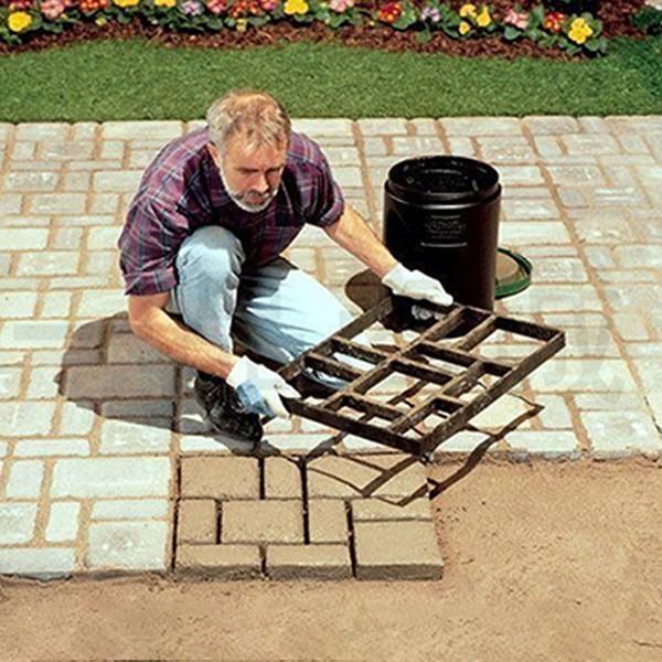 Reusable DIY Driveway Paving - bginvention