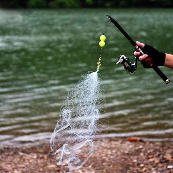 Explosive Hook Fish Net - bginvention