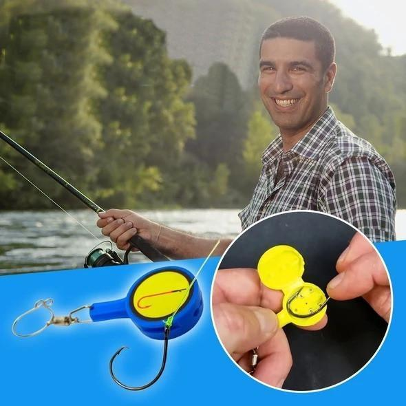 Knot Tying Tool Fishing Gear-Fishing gear - bginvention
